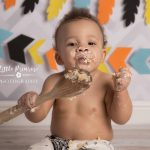 Cake smash and splash Sandbach - native american theme