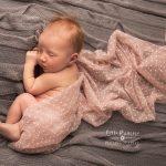 Newborn photography Brereton wrapped baby