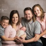 Newborn photography Alsager family