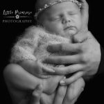 newborn baby photographer - Sandbach, Cheshire - parent hold