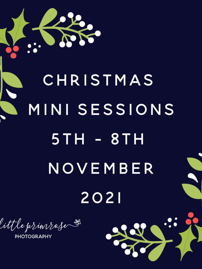 Christmas Mini Sessions 2021
